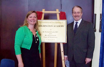 Opening School with Richard Fuller MP