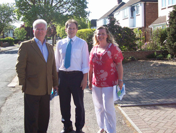 Campaigning in Newnham Ward