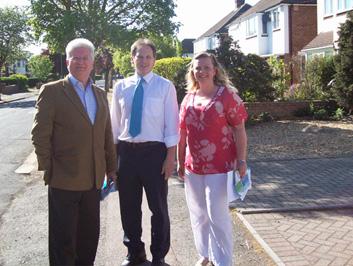 Campaigning in Newnham Ward